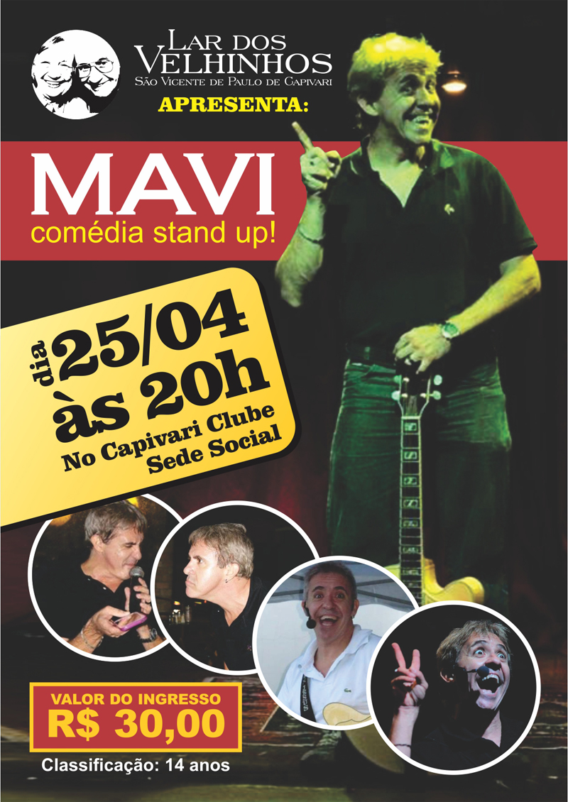 Lar dos Velhinhos apresenta: Mavi Show de Humor