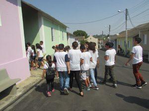 Alunos da escola de Monbuca EMEF ARGENTINA FRANCÊS arrecadam produtos de higiene e limpeza