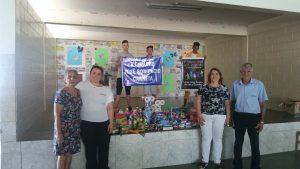 Alunos da escola E.E.Padre José Bonifácio Carreta arrecadam Produtos Higiene e Limpeza