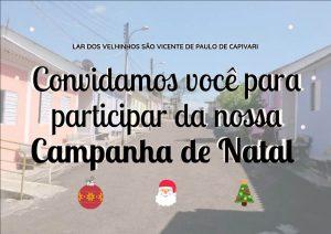 Read more about the article Campanha de Natal Digital 2018 do  Lar dos Velhinhos de Capivari