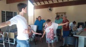 Read more about the article Moradores do Lar dos Velhinhos fazem Atividade Física com a Prowelness