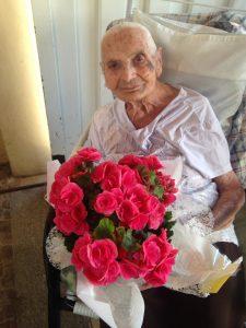 Moradora do Lar dos Velhinhos de Capivari, Palmira Vitturi Giacometti completou 108 anos