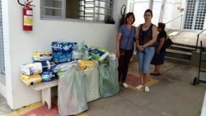 Read more about the article Família da Sra. Julieta Mori Piccinin entregam doações de Fraldas