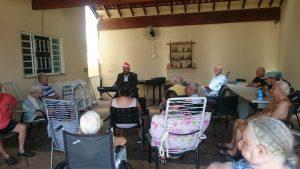 Read more about the article Jose Jesus Ortiz faz apresentação no Lar dos Velhinhos de Capivari