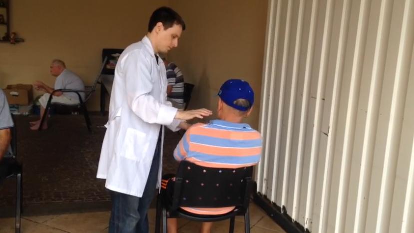 Voluntário Tiago Rossi – Terapeuta Reikiano