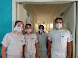 Instituto Federal de São Paulo –  Campus Capivari, faz doação de Protetores Faciais para os colaboradores da Área da Saúde