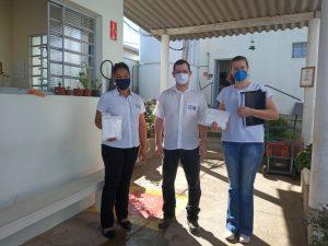 Read more about the article Empresa CTESS faz doações de máscaras descartáveis e entrega documentos de serviços prestados.