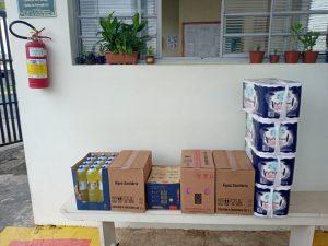 Lions Clube de Capivari faz doações de produtos de higiene e limpeza