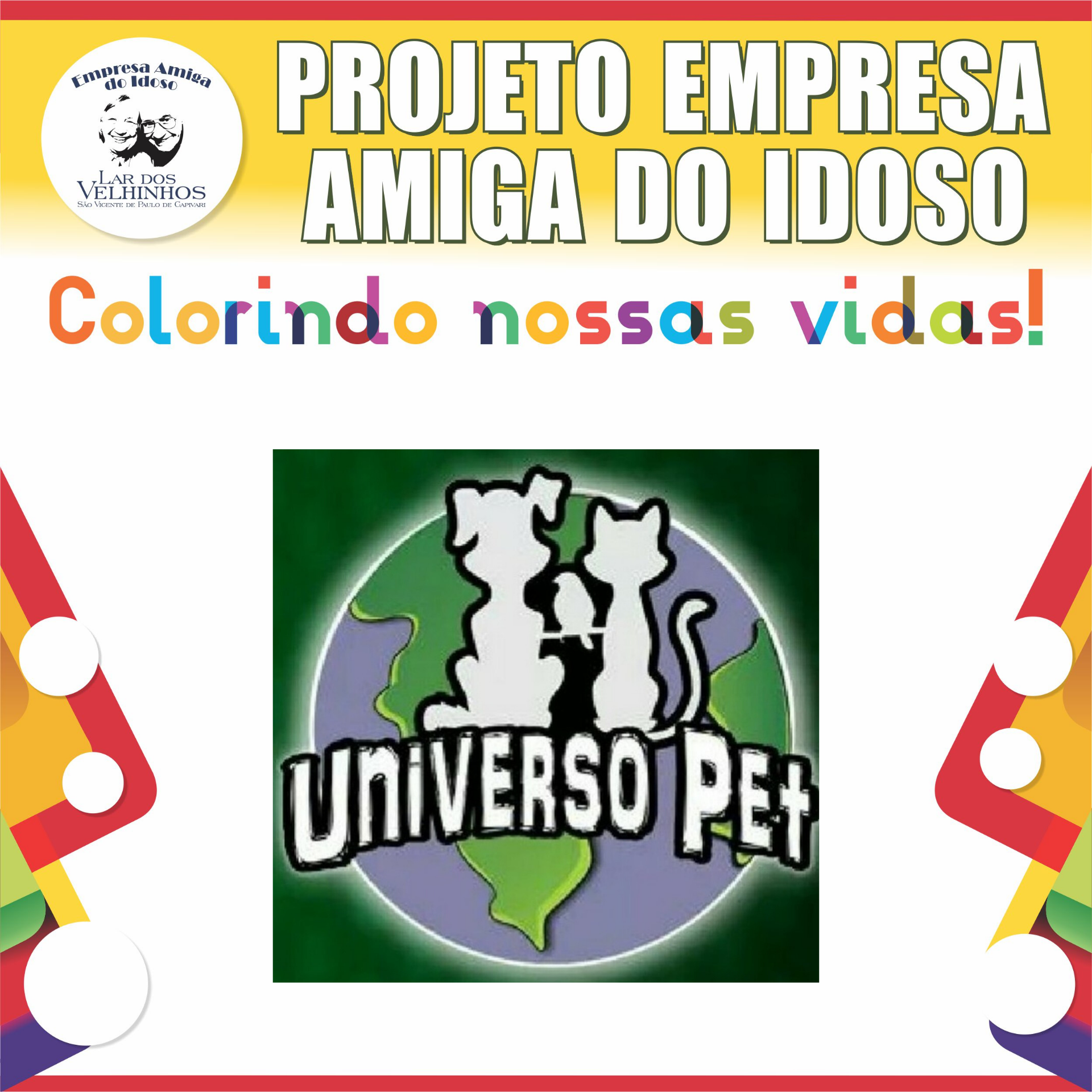 Empresa Amiga do Idoso 2020 - Universo Pet