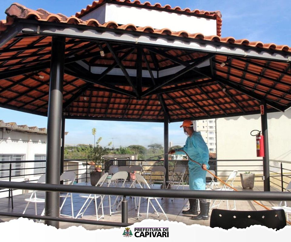 Read more about the article Defesa Civil de Capivari realiza desinfecção no Lar dos Velhinhos de Capivari