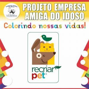 Read more about the article RECRIAR SOLUÇÕES SUSTENTÁVEIS fecha parceria no PROJETO EMPRESA AMIGA DO IDOSO.