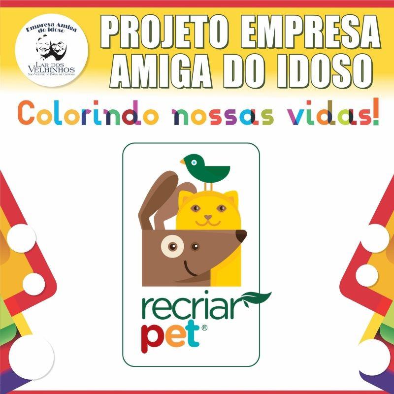 RECRIAR SOLUÇÕES SUSTENTÁVEIS fecha parceria no PROJETO EMPRESA AMIGA DO IDOSO.