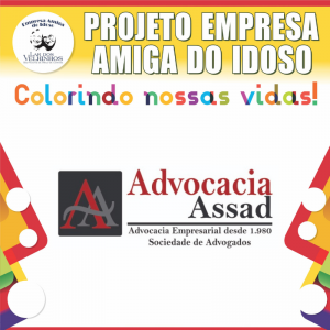 Read more about the article ADVOCACIA ASSAD SOCIEDADE DE ADVOGADOS fecha parceria no Projeto Empresa Amiga do Idoso