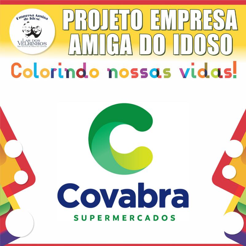 COVABRA SUPERMERCADOS fecha parceria no Projeto Empresa Amiga do Idoso