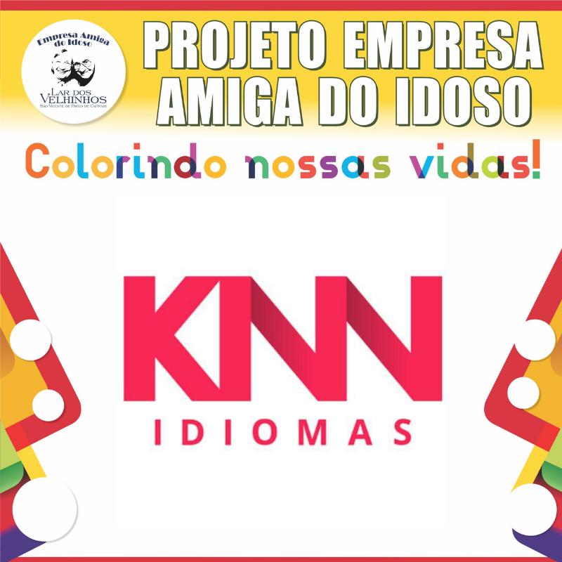 KNN IDIOMAS da cidade de Capivari-SP, fecha parceria no PROJETO EMPRESA AMIGA DO IDOSO.