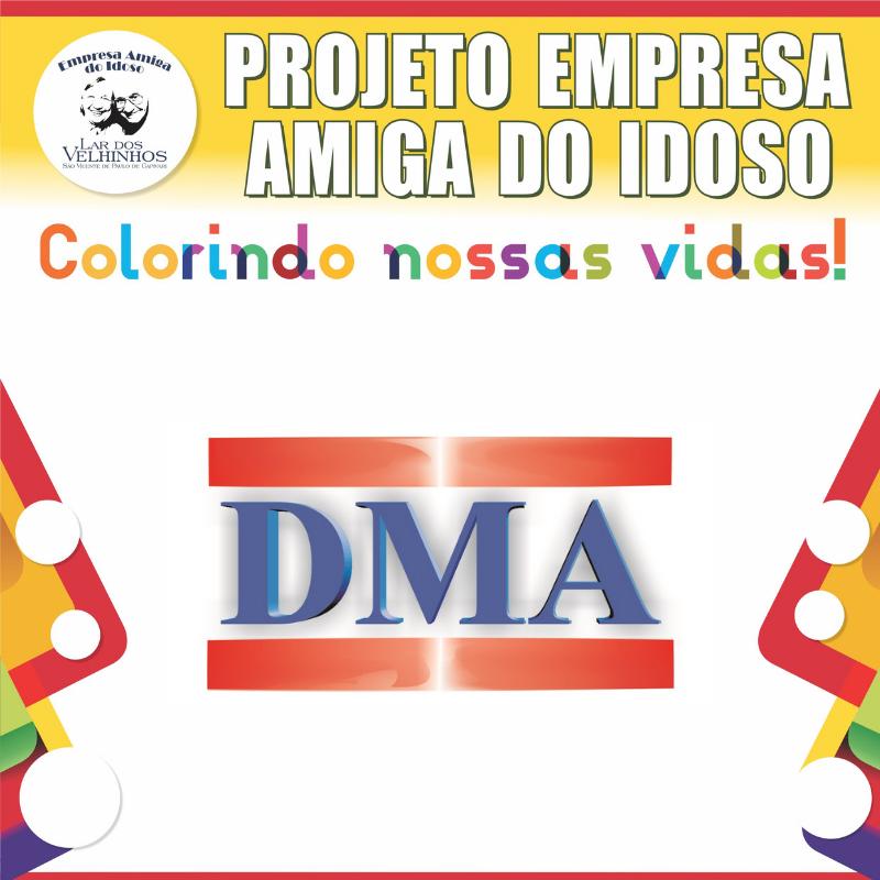 Empresa DMA INFORMÁTICA  fecha parceria no Projeto Empresa Amiga do Idoso