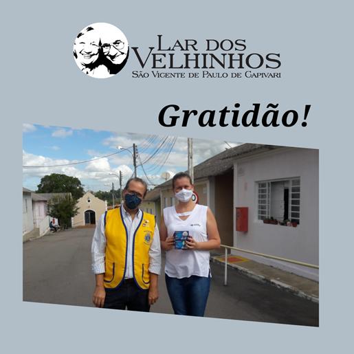 Lions Clube de Capivari faz doação de Fitas de dextro