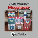 A empresa Megalaser juntamente com seus colaboradores arrecadam Leites para o Lar dos Velhinhos de Capivari