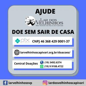 Read more about the article Nova forma de doação – Doe sem sair de Casa